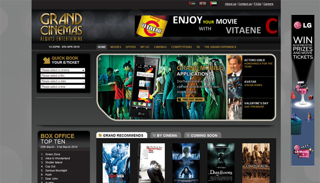 Grand Cinemas (Umbraco)