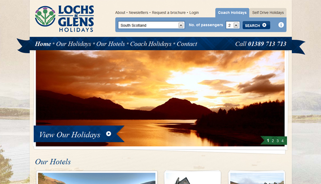 Lochs and Glens Holidays (Umbraco)
